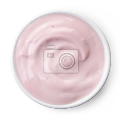 Miska jogurt truskawkowy