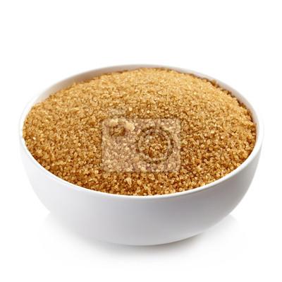 Tapeta Miska z brązowego cukru