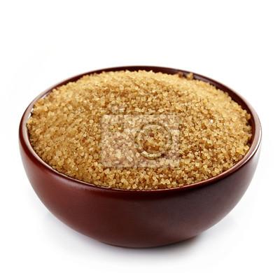 Miska z brązowego cukru