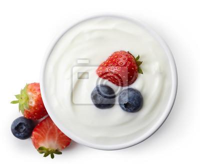 Miska z greckim jogurtem