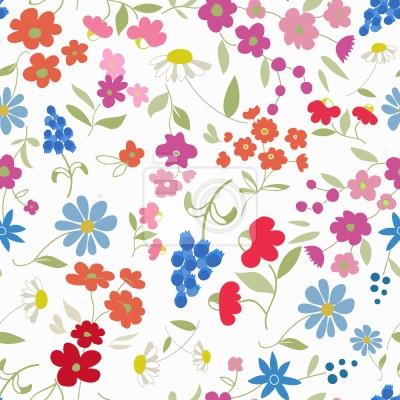 Tapeta Moje Kwiaty Mix