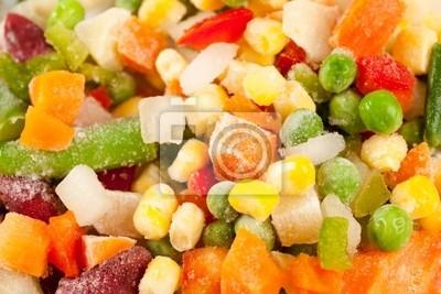 Tapeta Mrożone warzywa