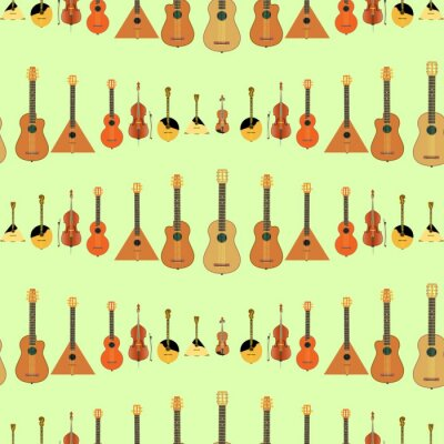 Tapeta Musical instruments. String and stringed musical instruments.