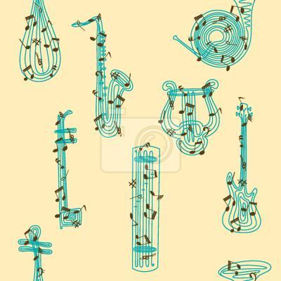 Tapeta muzyka