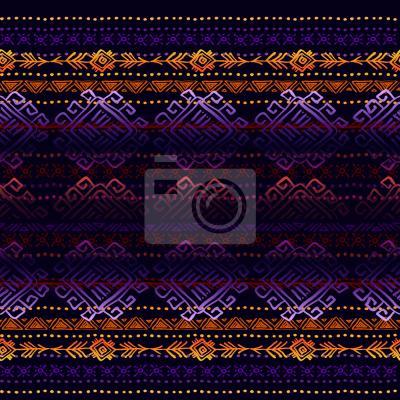 Tapeta Mystic Ethno Stripes