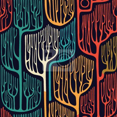 Tapeta Nawiedzone drzewa