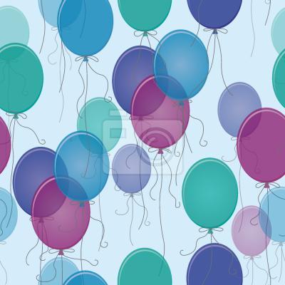 Niebieski Balony