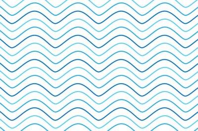 Tapeta Niebieski wzór fali