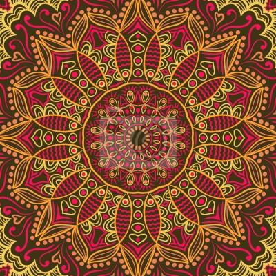 Tapeta Odbarwione Sari Z Maharani