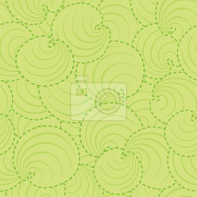 Tapeta Okrągłe Liście