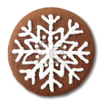 Okrągłe świąteczne pierniki cookie