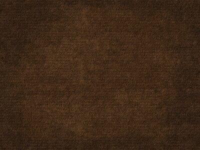 Tapeta Old rough paper sheet. Dark brown paper texture background.