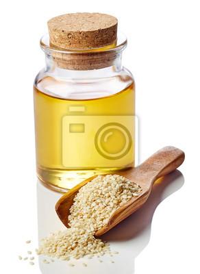 Olej sezamowy i sezamu