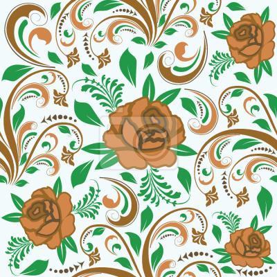 Tapeta Opulentne róże