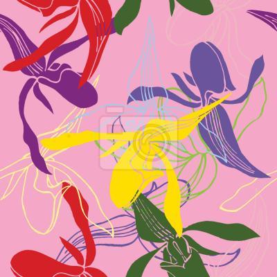 Tapeta Orchidea Kolor