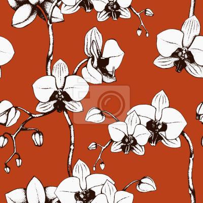 Tapeta Orchidea Krwi