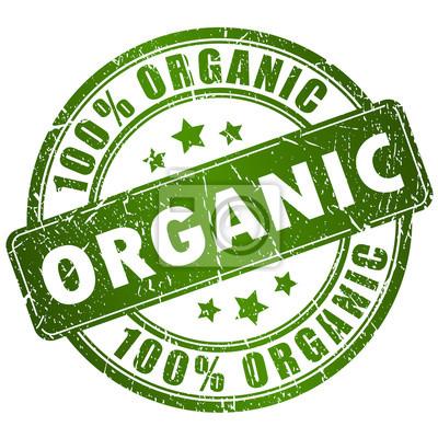 Tapeta Organic vector stamp