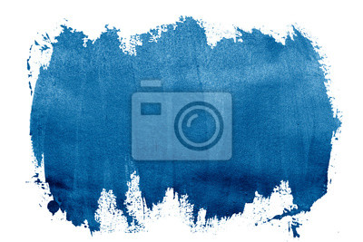 Tapeta paint blue strokes brush stroke color texture with space for your own text