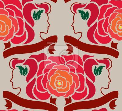 Tapeta Pani Róża