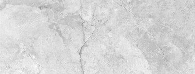 Tapeta Panorama of White marble tile floor texture and bckground seamless