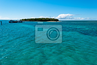 Paradise Island Green Island, Queensland, Australia;