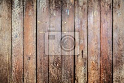 Tapeta Paski wzór brązowy deska drewno wal