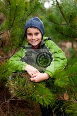 Piękne dziecko na zewnątrz