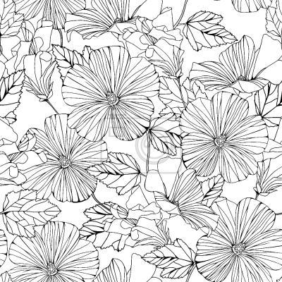 Tapeta Piękne Hibiscus