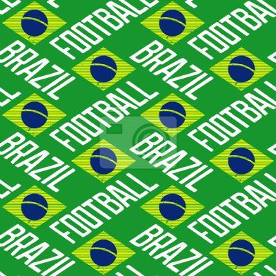 Tapeta Piłka nożna Brazylii