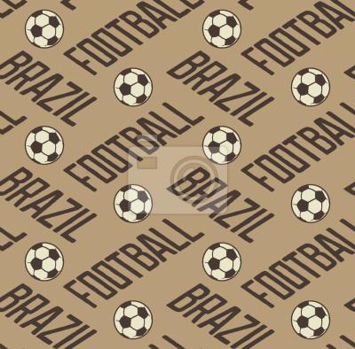 Tapeta Piłka nożna w Brazylii