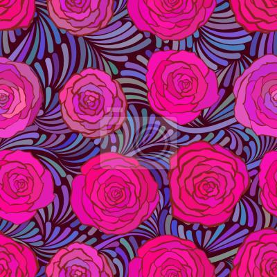 Tapeta Pióra I Roses