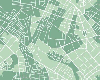 Tapeta Plan miasta bez szwu