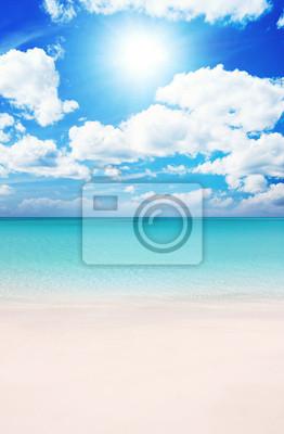 Tapeta Plaża w lecie