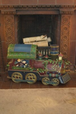 Pociąg Boże Narodzenie