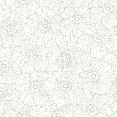 Tapeta Pogniecione kwiaty