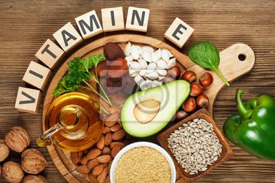 Tapeta Pokarmy bogate w witaminę E