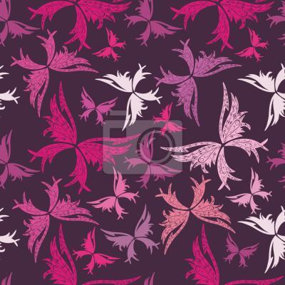 Tapeta Polinezyjskie Motyle