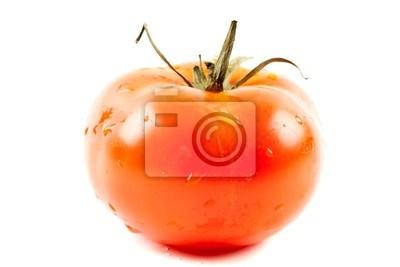 Pomidor wyizolowanych na białym tle