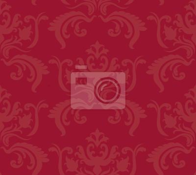 Tapeta Porto Baroque Red