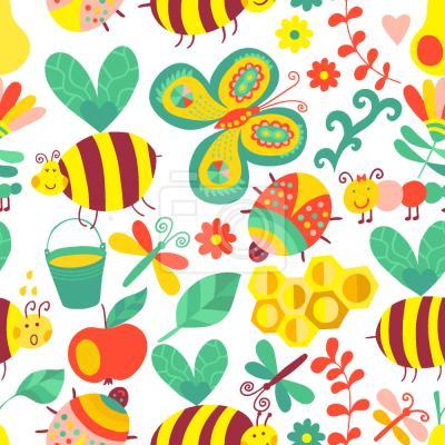 Tapeta Pracowite pszczoły