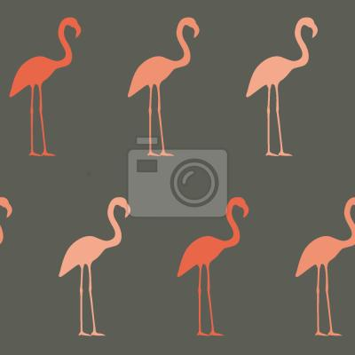 Tapeta Pretty Flamingo