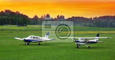 Tapeta Privatflugplatz