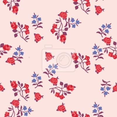 Tapeta Promila Fleurs Na Róża