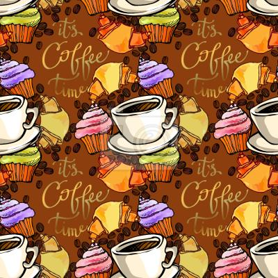 Tapeta Przerwa na kawe