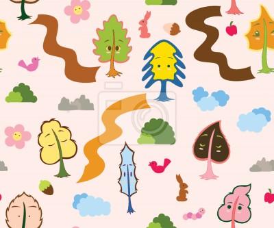 Tapeta Przyjaciele Drzewa