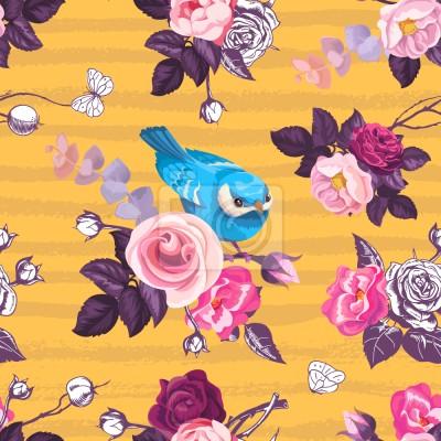 Ptaki W Ogrodzie Różanym