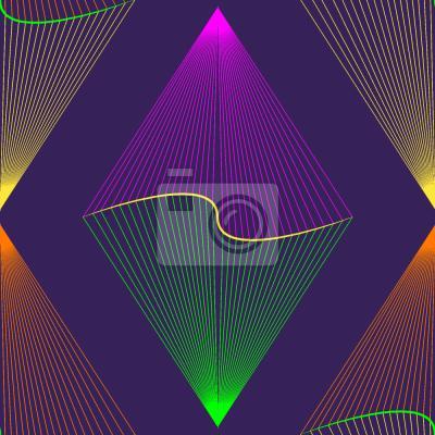 Tapeta Purpurowe latarnia