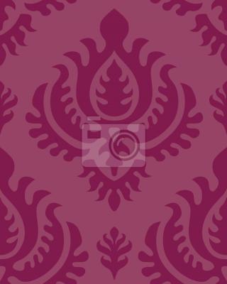 Tapeta purpurowy barok