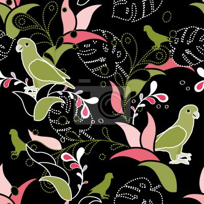 Tapeta Rajskie ptaki