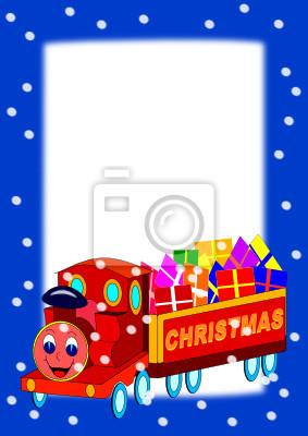 Ramki z Christmas Train